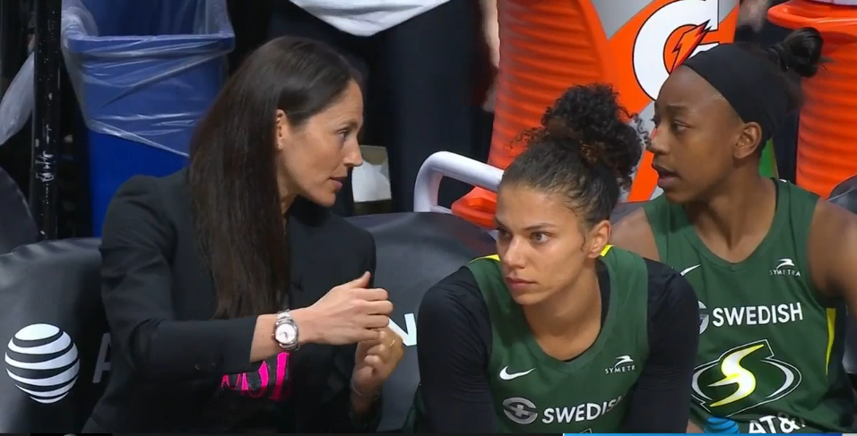 Coach Sue Bird